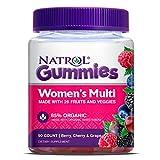 #7: Natrol Multivitamin Gummy for Women, 90 Count