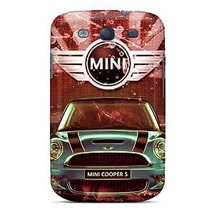 New Fashion Premium Tpu Case Cover For Galaxy S3 - Mini Cooper