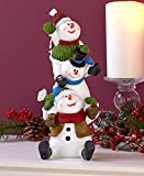 Holiday Silly Snowman Stacker Figurines by GetSet2Save
