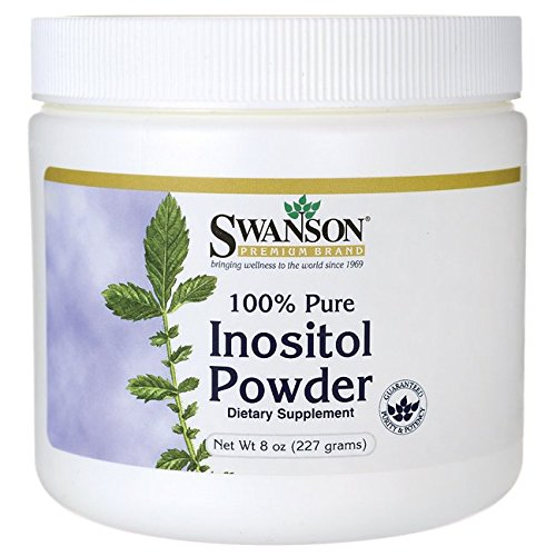 Foods Inositol Pure Powder - Swanson 100% Pure Inositol Powder 8 Ounce (227 g) Pwdr