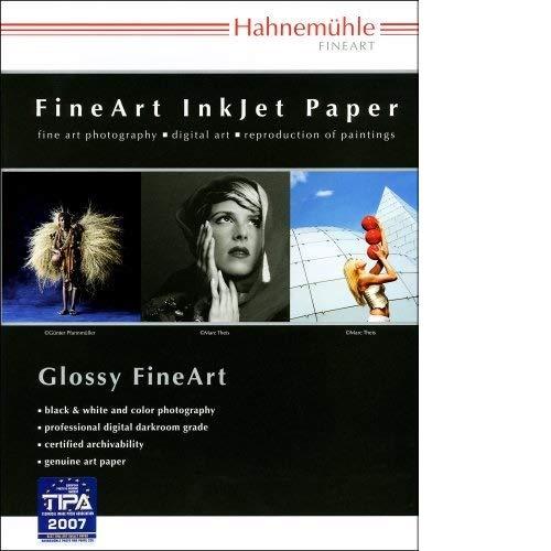 - Hahnemuhle Fine Art Pearl, Fiber Based, Bright White Inkjet Paper, 285gsm, 8.5x11