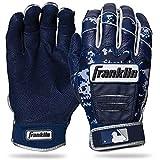 Franklin Sports CFX Pro Digi Series Batting Gloves Navy/Navy Camo Adult Small