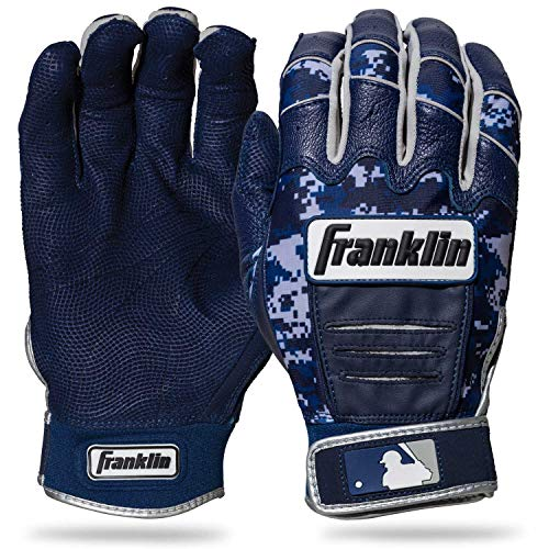 Franklin Sports CFX Pro Digi Series Batting Gloves Navy/Navy Camo Adult X-Large