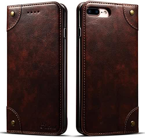 Leather Wallet Phone Case Flip Protective Card Holder Cover Kickstand Folio Cover for Iphone6/6 Plus/7/7 Plus/8