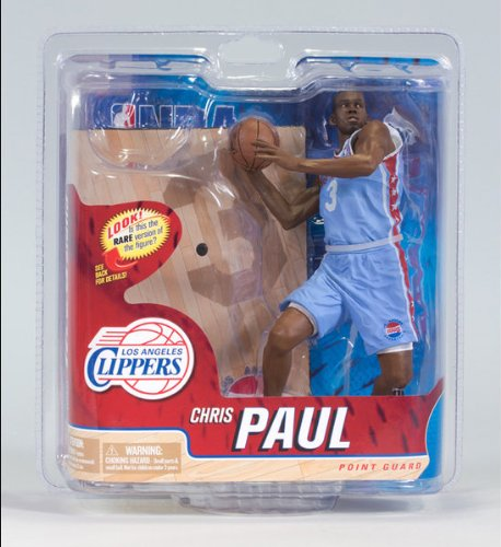 McFarlane NBA Series 21 COLLECTOR LEVEL CHRIS PAUL - LOS ANGELES CLIPPERS #2000-3000 NEU/OVP