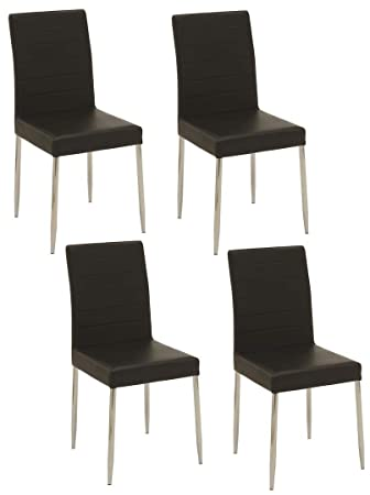 Amazon.com: Coaster Home Furnishings Casual silla de comedor ...