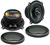 Fits Jaguar XJ 1997-2005 Front Door Replacement Harmony Speaker HA-C5 Premium Speakers