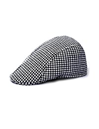 TONSEE Duckbill Driving Flat Ivy Beret Cap Peaked Sport Hat Golf Cabbie Hat