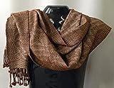 Handwoven Alpaca/Silk Shawl/Scarf