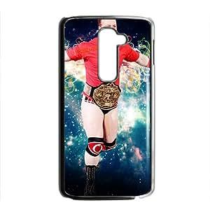 Warm-Dog WWE Wrestling Fighter Black Phone Case for LG G2