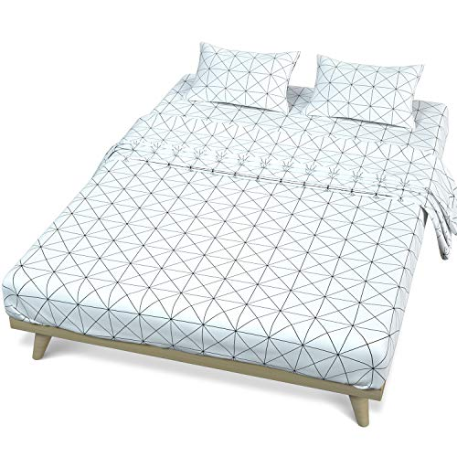 MUBYTREE Queen Sheets Bed Sheets...