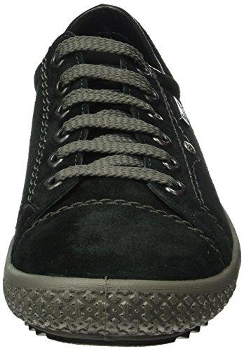 Rieker M6104 - Zapatillas para mujer Negro (schwarz/01)