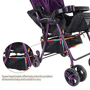 (Pack of 2) Baby Stroller Pram Waterproof Bottom Basket Infant Pushchair Buggy Shopping Storage Case Organizer Bag Mesh…