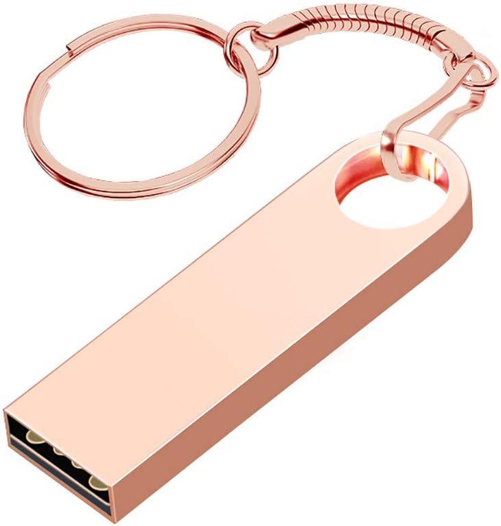 XGBIN USBフラッシュドライブ 32GB メタルUSBフラッシュドライブ 防水 サムドライブ ジャンプドライブ ペンドライブ メモリースティック キーリング シルバー majiangfeng-13841-XGBIN