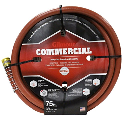 pro commercial hose 3/4 inch x 75 feet