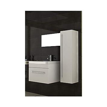 Mobile bagno bianco/lavabo con mobiletto/lavabo sotto armadio ...