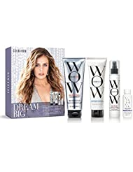 Dream Big Kit, includes Sulfate Free Shampoo, Conditioner, Root Lift Spray and Travel Size Leave-In treatment for Thicker, Fuller, High Volume Hair