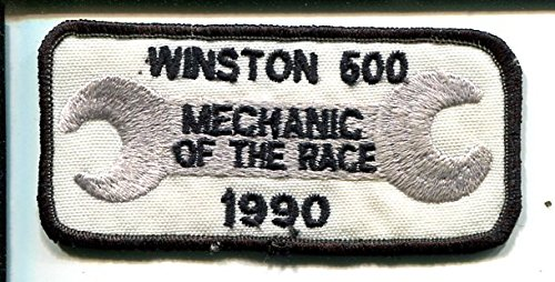 Race 1990 - Talladega Speedway-NASCAR-Winston 500 Race Patch 1990-Mechanif of The Race-VF