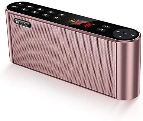 Antimi Bluetooth Speakers Microphone Definition