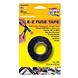1 in. x 10 ft. Black E-Z Fuse silicon Tape (12-Pack)