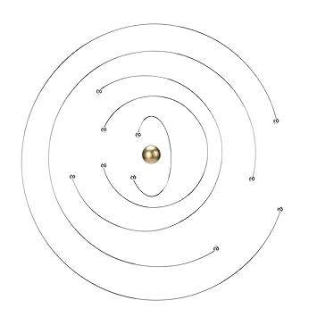 Flensted Mobiles Mobile Niels Bohr Atom Modell