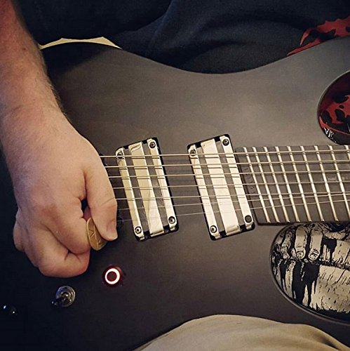 electric guitar killswitch black aluminum red led premium mod by iron age buy online in uae. Black Bedroom Furniture Sets. Home Design Ideas