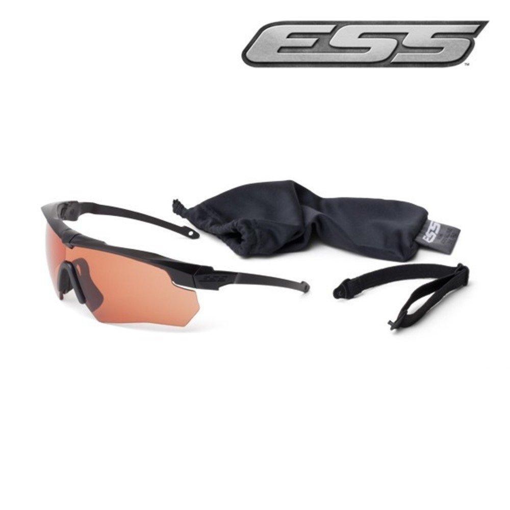 Ess Gray Safety Glasses Scratch-Resistant Wraparound by ESS Eyewear Anti-Fog