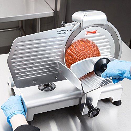 (Manual Gravity Feed Meat Slicer - 1/4 hp,Avantco SL310 10