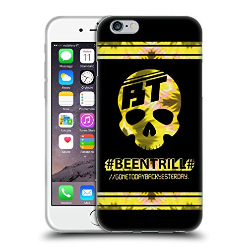 Official Been Trill Gold Colourful Prints Soft Gel Case for Apple iPhone 6 / 6s