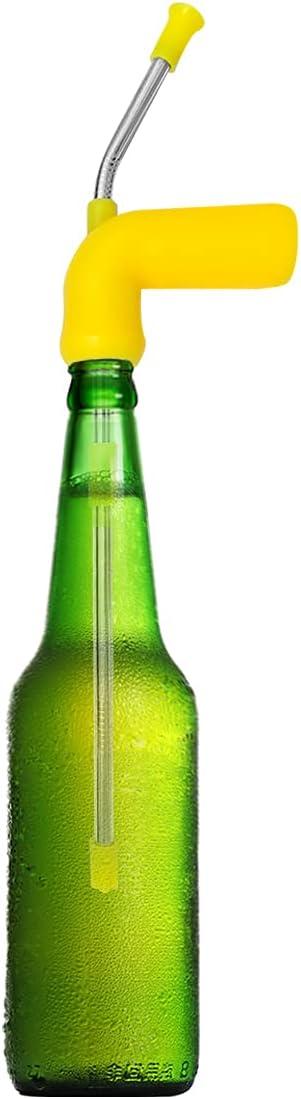 Beer Bong Funnel, Drink Snorkel, Beer Chug, Premium Funnel for College,Tailgating, Bachelor, Spring Break, Straw Hens Bucks House Party