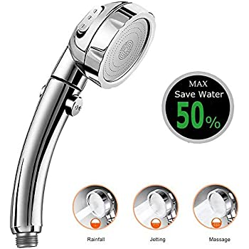 Kaiying Drill Free High Pressure Handheld Shower Head With