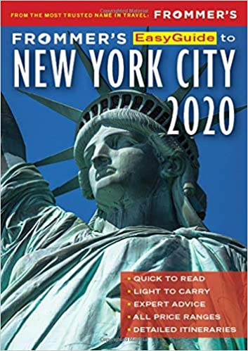 Best Fiction Books Of 2020.Frommer S Easyguide To New York City 2020 Pauline Frommer