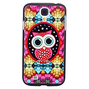 Lovely Cartoon Owl Pattern Durable Hard Case for Samsung Galaxy S4 I9500