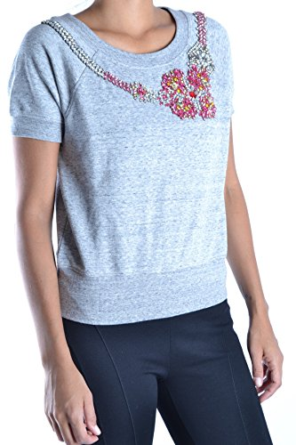 Guess Mujer MCBI143008O Gris Algodon T-Shirt