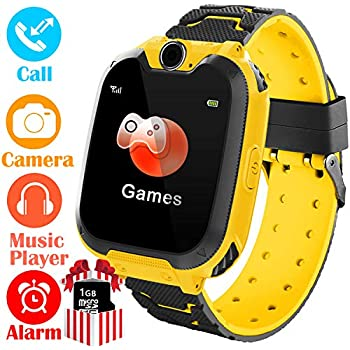 Amazon.com: Smart Watch for Kids - Smartwatches with SOS ...
