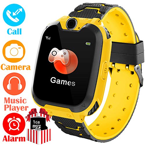 YENISEY Kids Smart Watch for Boys Girls - HD Touch Screen Sports Smartwatch Phone with Call Camera...