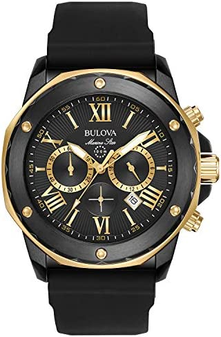 Bulova Men s 44mm Marine Star Chronograph Watch