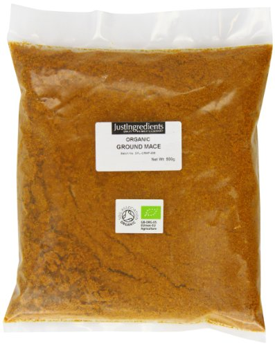 JustIngredients Organic Ground Mace Loose 500 g by JustIngredients
