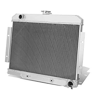 Jeep CJ5-7 w/ Chevy SBC V8 Engine Swap 3-Row Tri-Core Aluminum Radiator