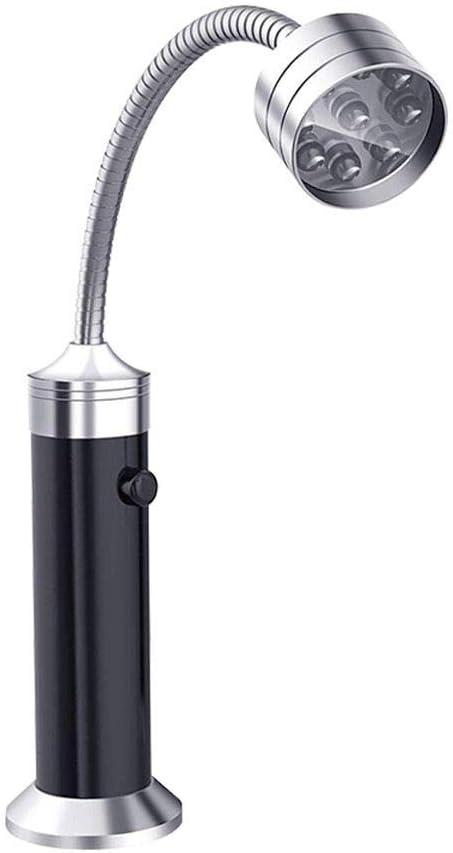 Impermeabilice la luz de la parrilla para barbacoa,LED Luz de la parrilla súper brillante con imán Linterna flexible Herramienta de reparación del trabajo Cuello de cisne flexible de 360 grados