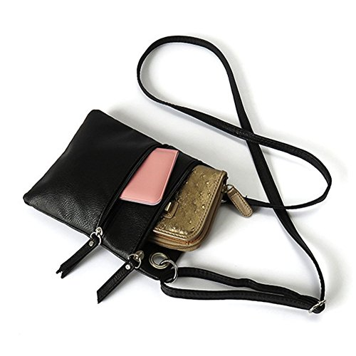 Brown Shoulder S Bag Wallet Crossbody Mini Leather Bag Women's Purse BBG TM qKqPypC