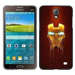 Design for Girls Plastic Cover Case FOR Samsung Galaxy Mega 2 Iron Superhero Mask OBBA
