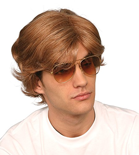80's Michael George Costume (George Michael 80's Male Wig)