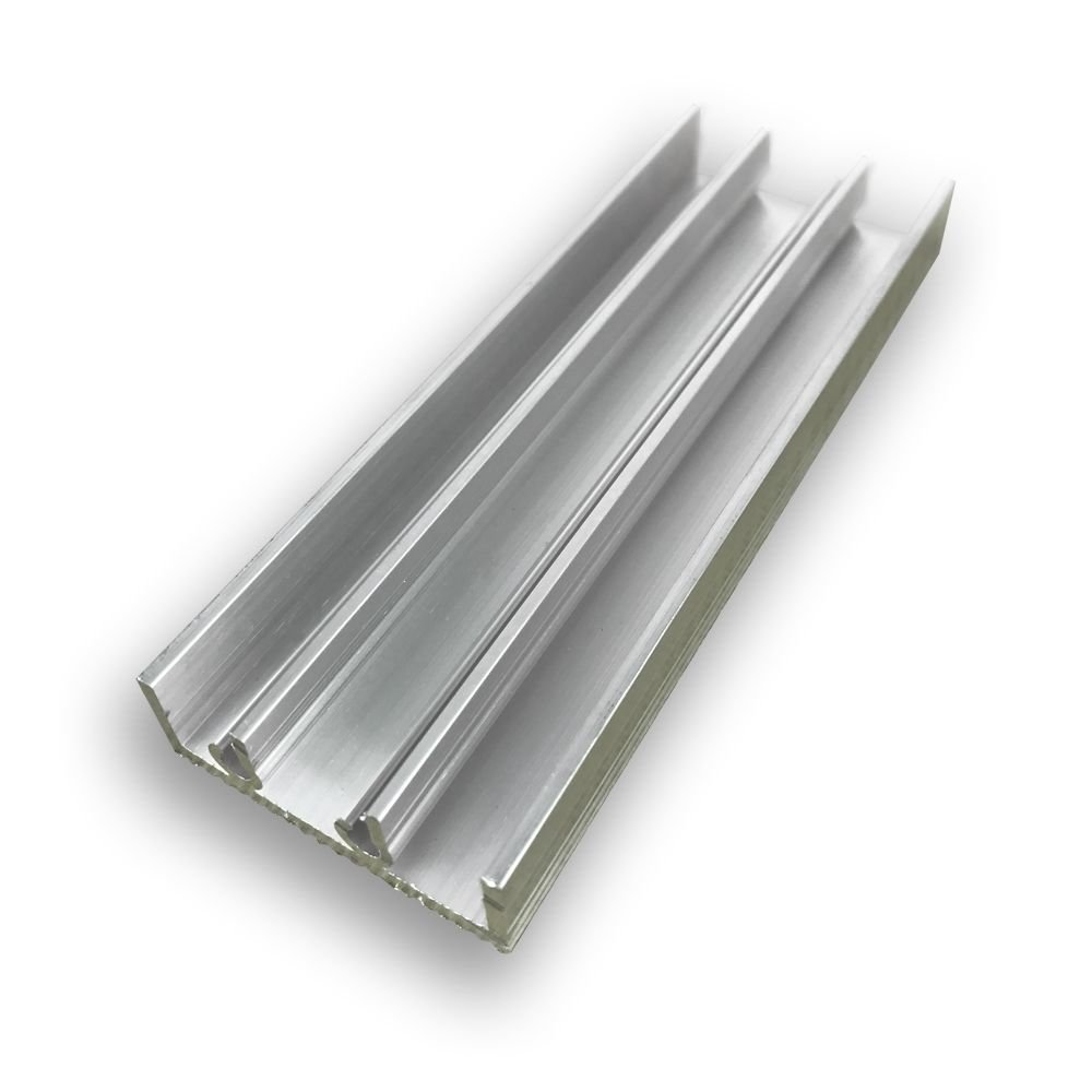 4//10//4 Bautiefe: 45,5 mm BxH: 1600x900 mm wei/ß Aluminium Schiebefenster 2-Fach Verglasung Klarglas