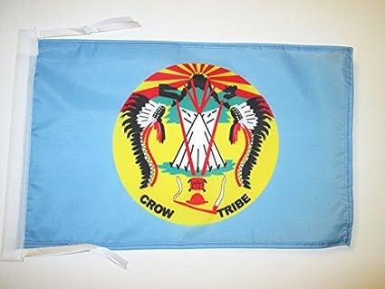 7d502a4a6 Amazon.com : AZ FLAG Crow Nation Flag 18'' x 12'' Cords - Crow Tribe ...