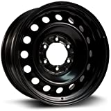 Aftermarket Steel Rim 16X7, 6X139.7, 106, +30, black finish (MULTI APPLICATION FITMENT) X45483