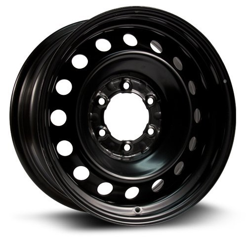 RTX, Steel Rim, New Aftermarket Wheel, 16X7, 6X139.7, 106, 30, black finish X45483 ()
