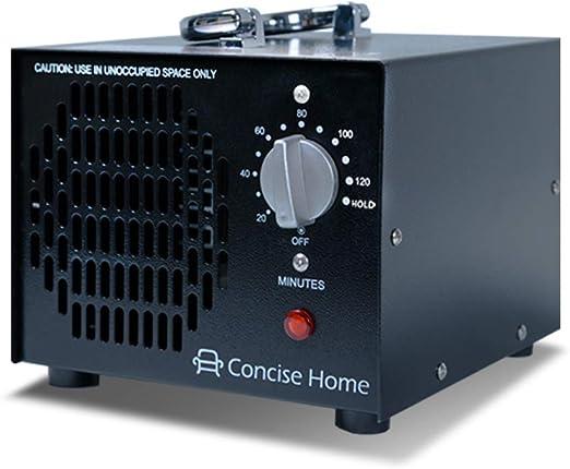 Concise Home - Generador de ozono de aire comercial y purificador ...