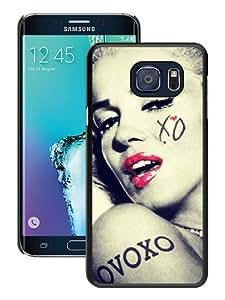Hot Sale Samsung Galaxy S6 Edge+ Case,Marilyn Monroe 38 Black Samsung Galaxy S6 Edge Plus Screen Phone Case Unique and Fashion Design