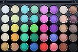 CYCTECH 40 Colors Cosmetic Powder Eyeshadow Palette Makeup Set Matt Available Professional Cosmetic Beauty Kit (B)